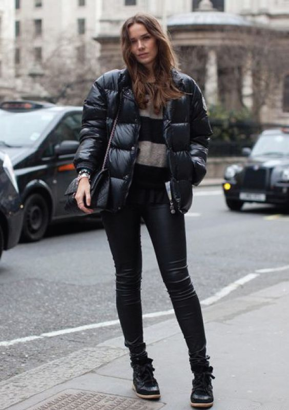 10 Looks para testar com puffy jacket