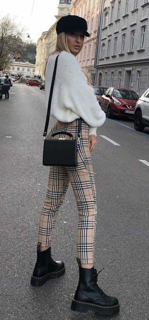 suéter e calça xarez