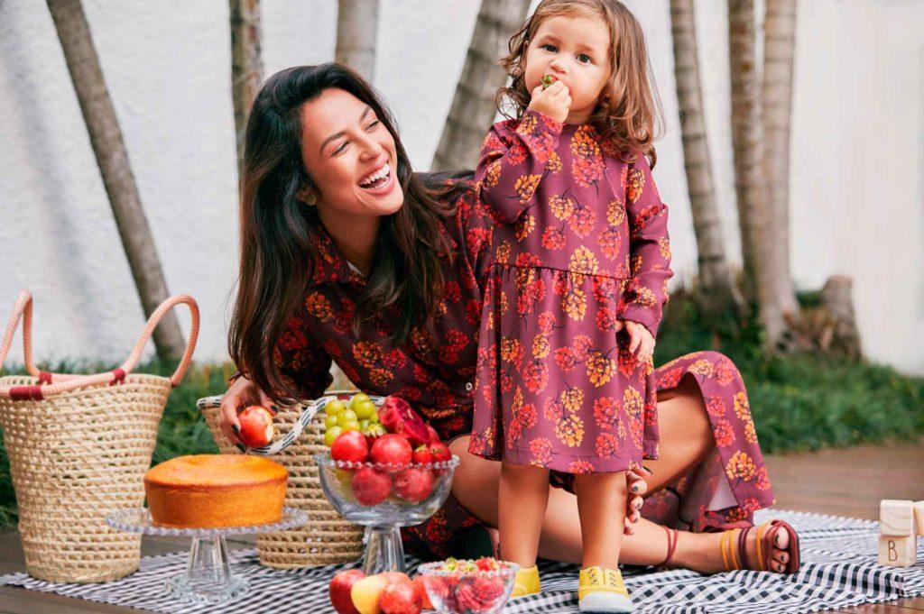 tal mãe, tal filha, vestido floral