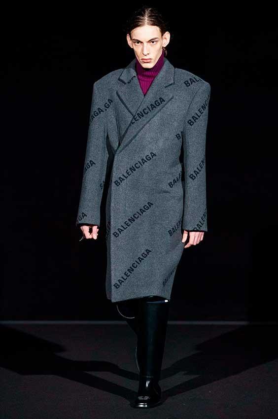 casaco balenciaga