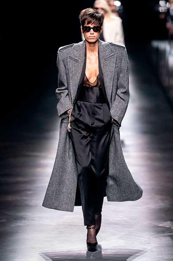 maxi casaco com obreira