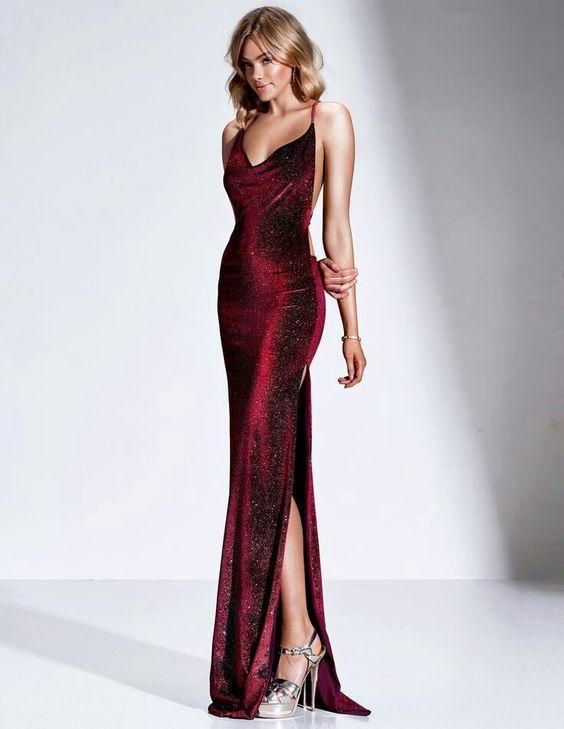 vestido vermelho drapeado