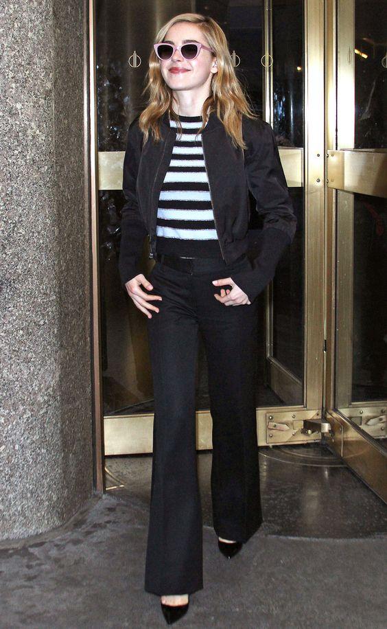 Kiernan Brennan com look navy