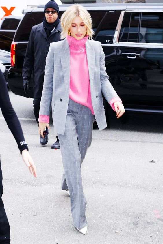 terninho inza + rosa suéter