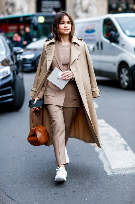 trench coat com terno