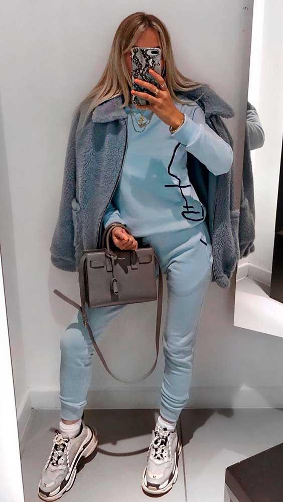 casaco de pelinho