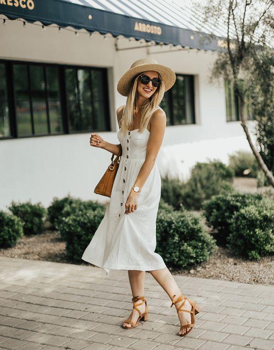 Qual Sapato Usar Com Vestido Midi Guia Completo Guita Moda
