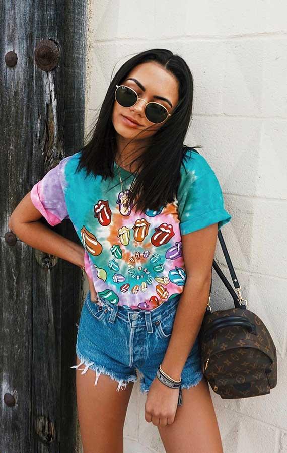 Michelle Infusino, t-shirt estampada