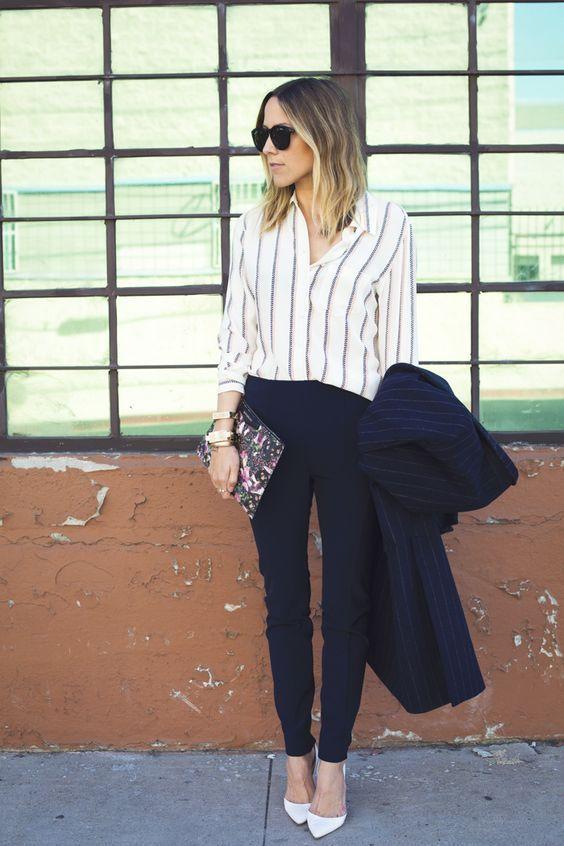 roupas para trabalhar, camisa e calça de alfaiataria