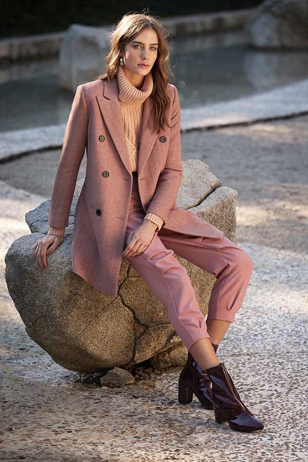 roupas para trabalhar, terninho rosa