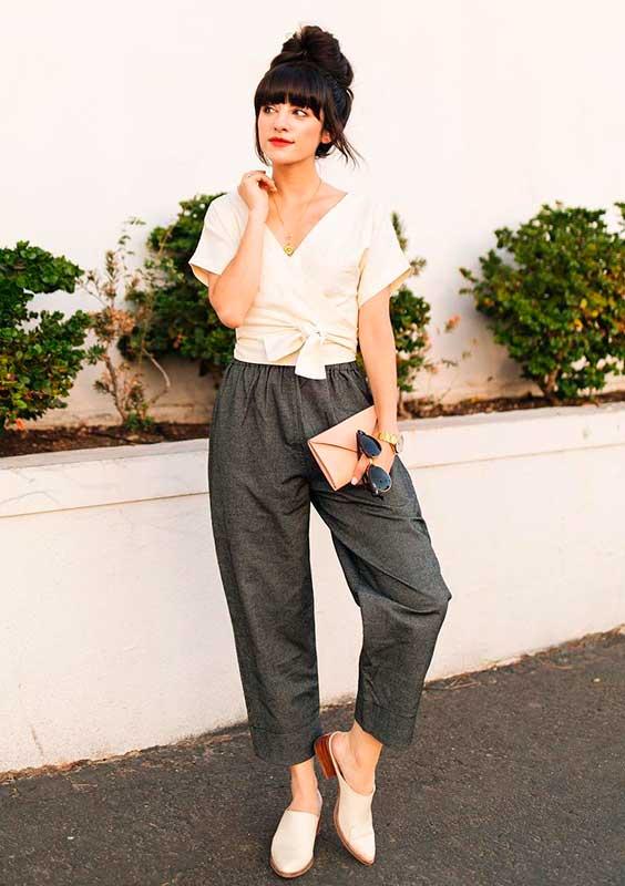 look minimalista lady like