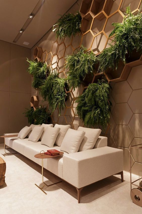 plantas, jardins suspenso
