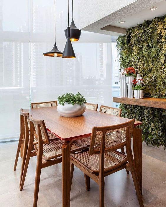 plantas, jardim suspenlo