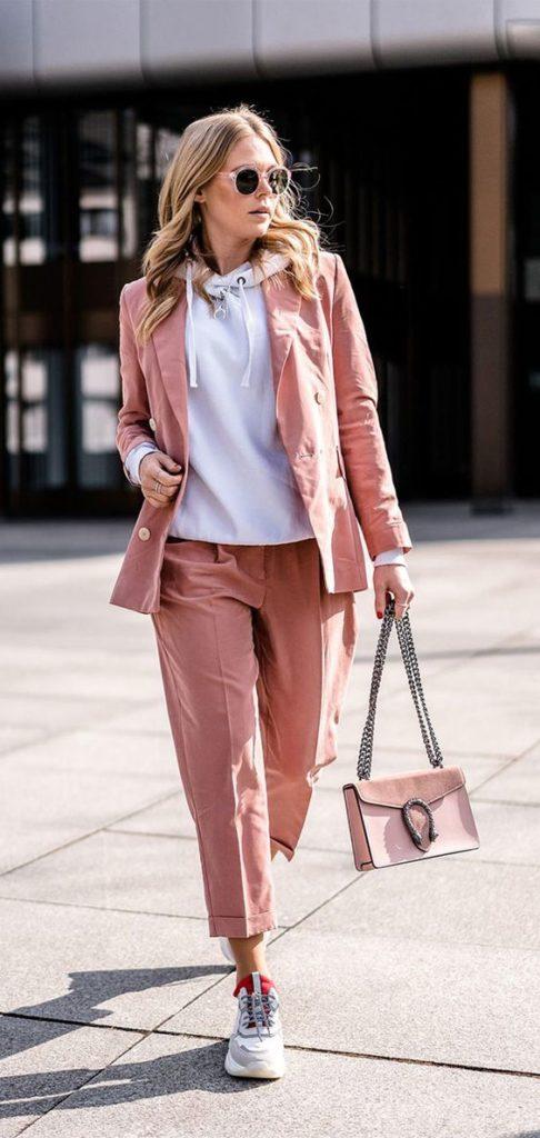 hoodie, terninho rosa