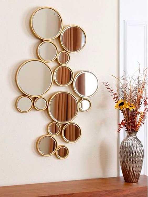 composição de espelhos