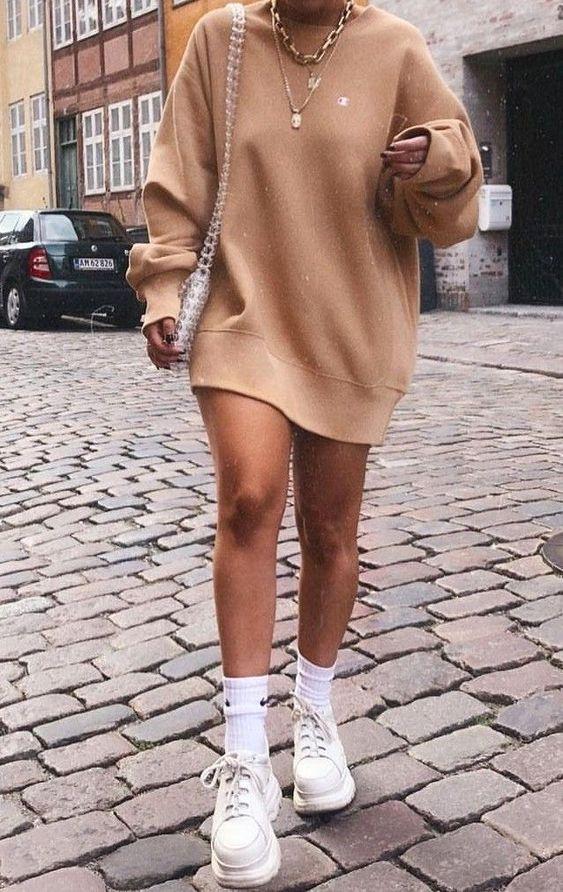 cores de inverno, maxi suéter camelo
