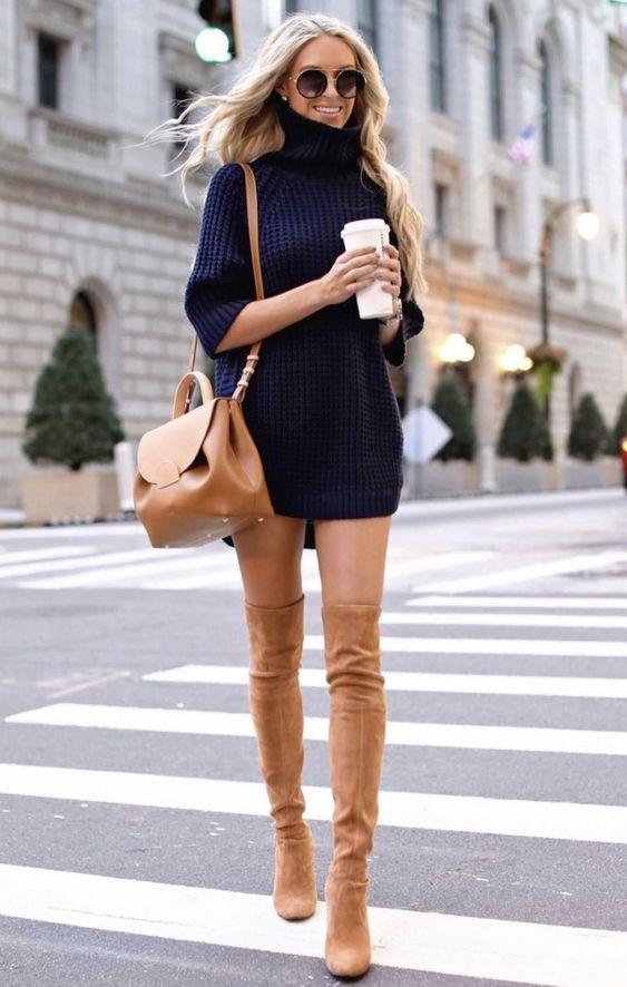 cores de inverno, suéter oversized preto