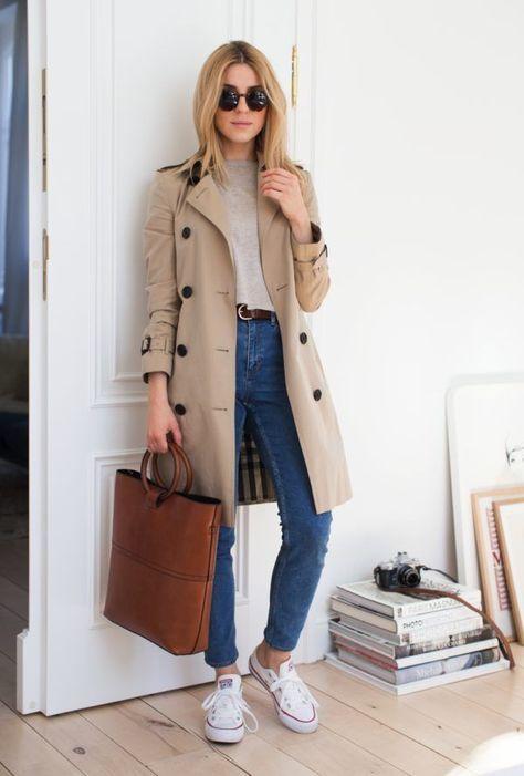 blusa cinza calça jeans e casaco