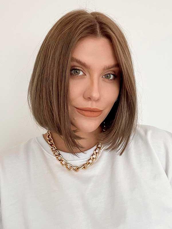 cabelo curto liso chanel