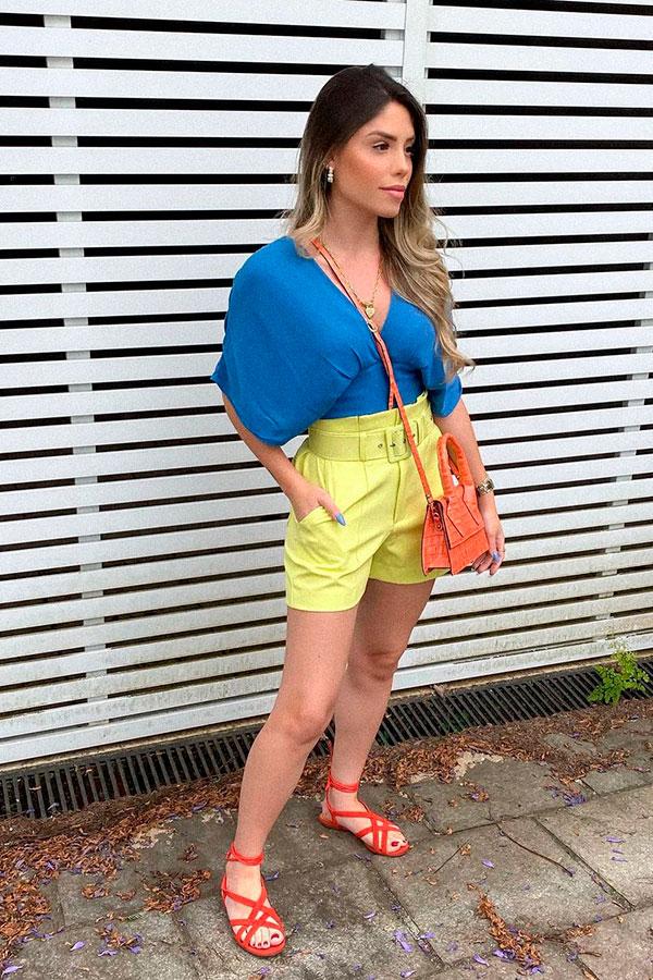 sandálias para o verão, color block, sandália gladiadora