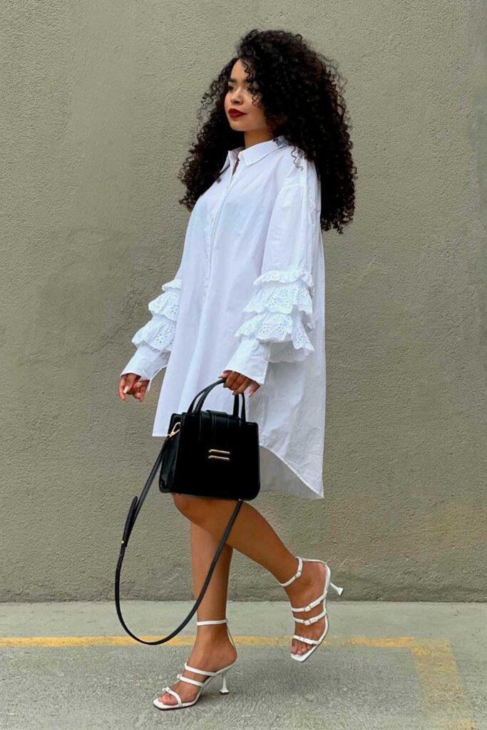 breezy dress branco
