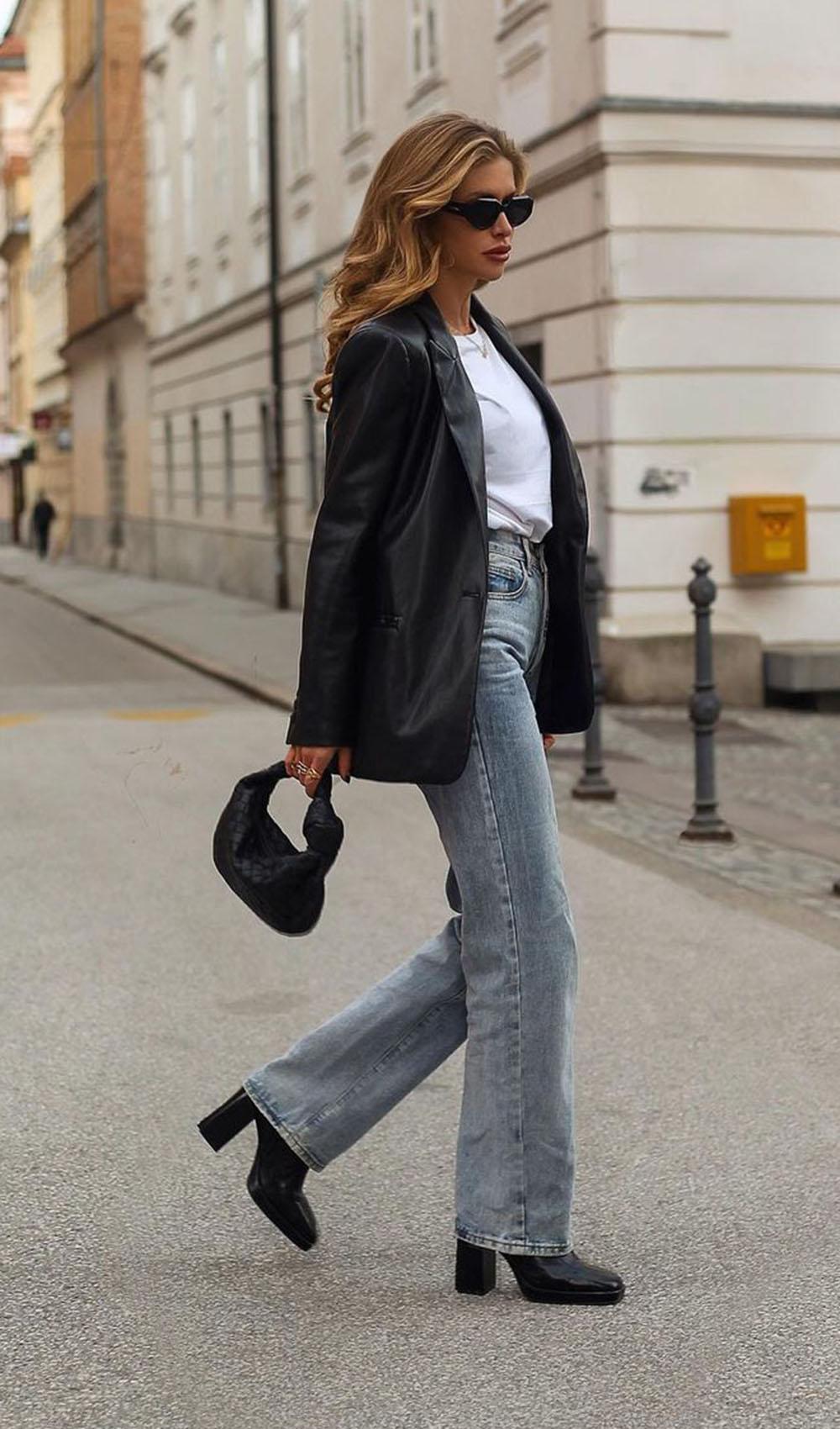Chique com jeans